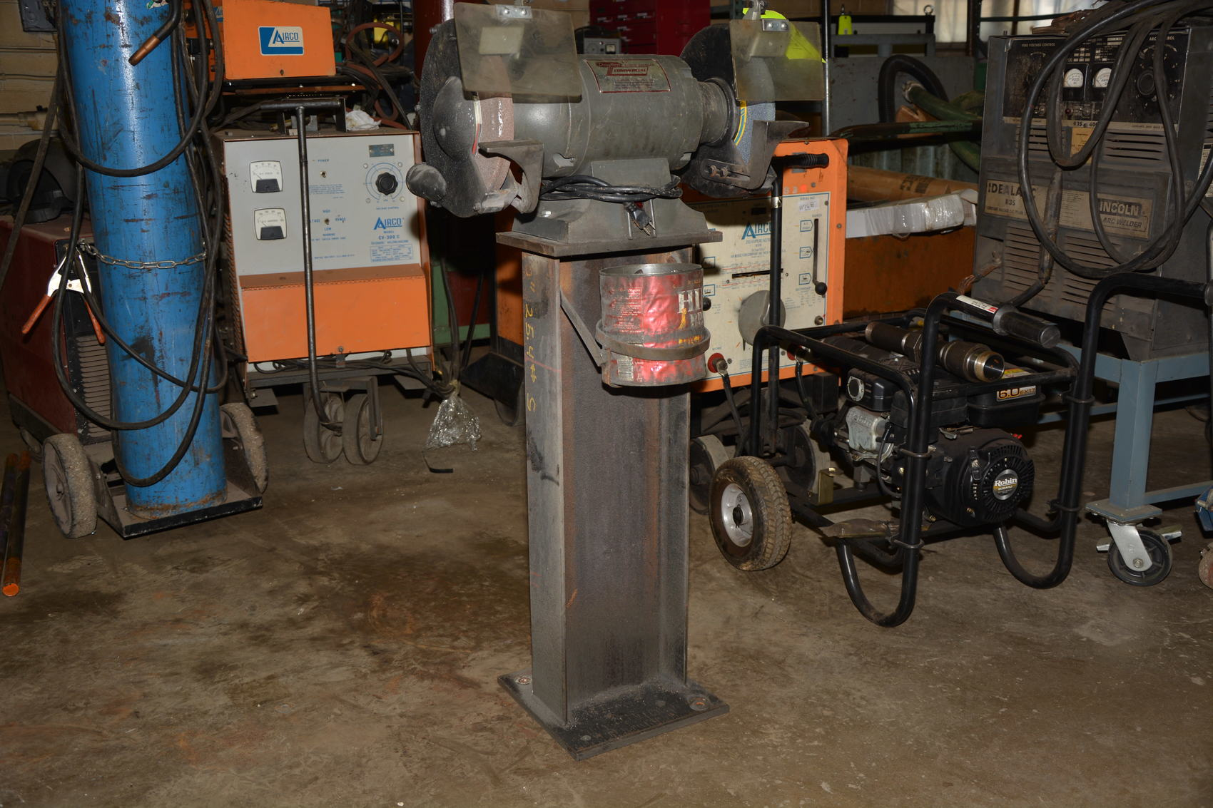 Dayton 10 Quot Double End Single Phase Bench Grinder 1 Hp