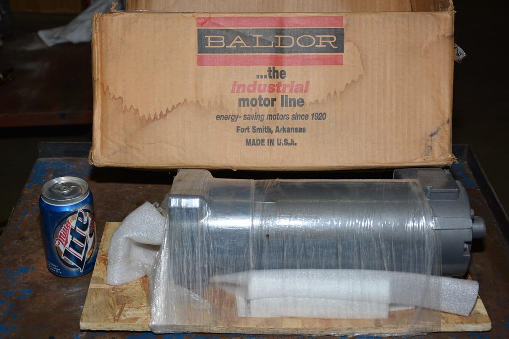 New baldor gpp3374 1 3 hp dc gear motor 180 vdc 15 1 for Baldor gear motor catalog
