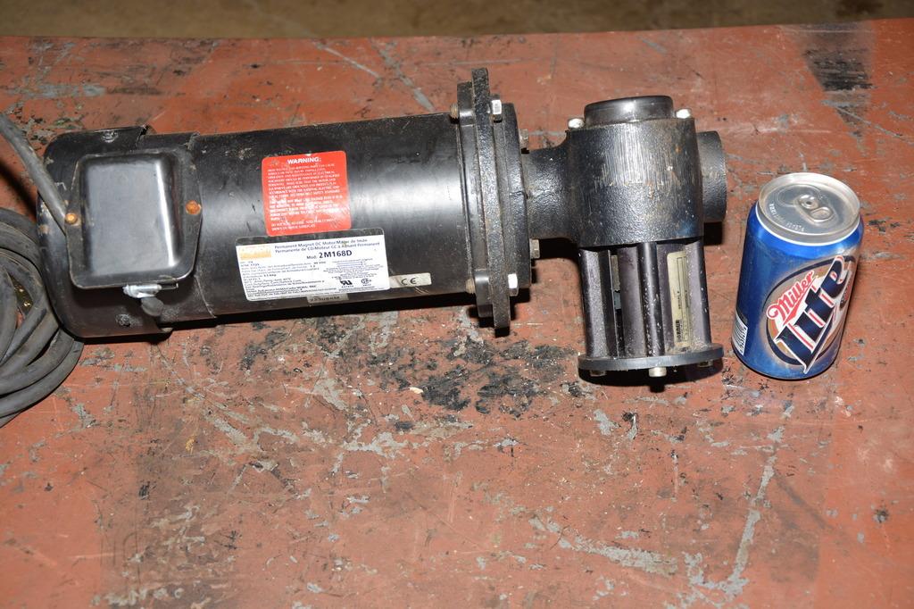 Dayton 1 2 Hp Type 2m168d Dc Gear Motor Dorner 20 1