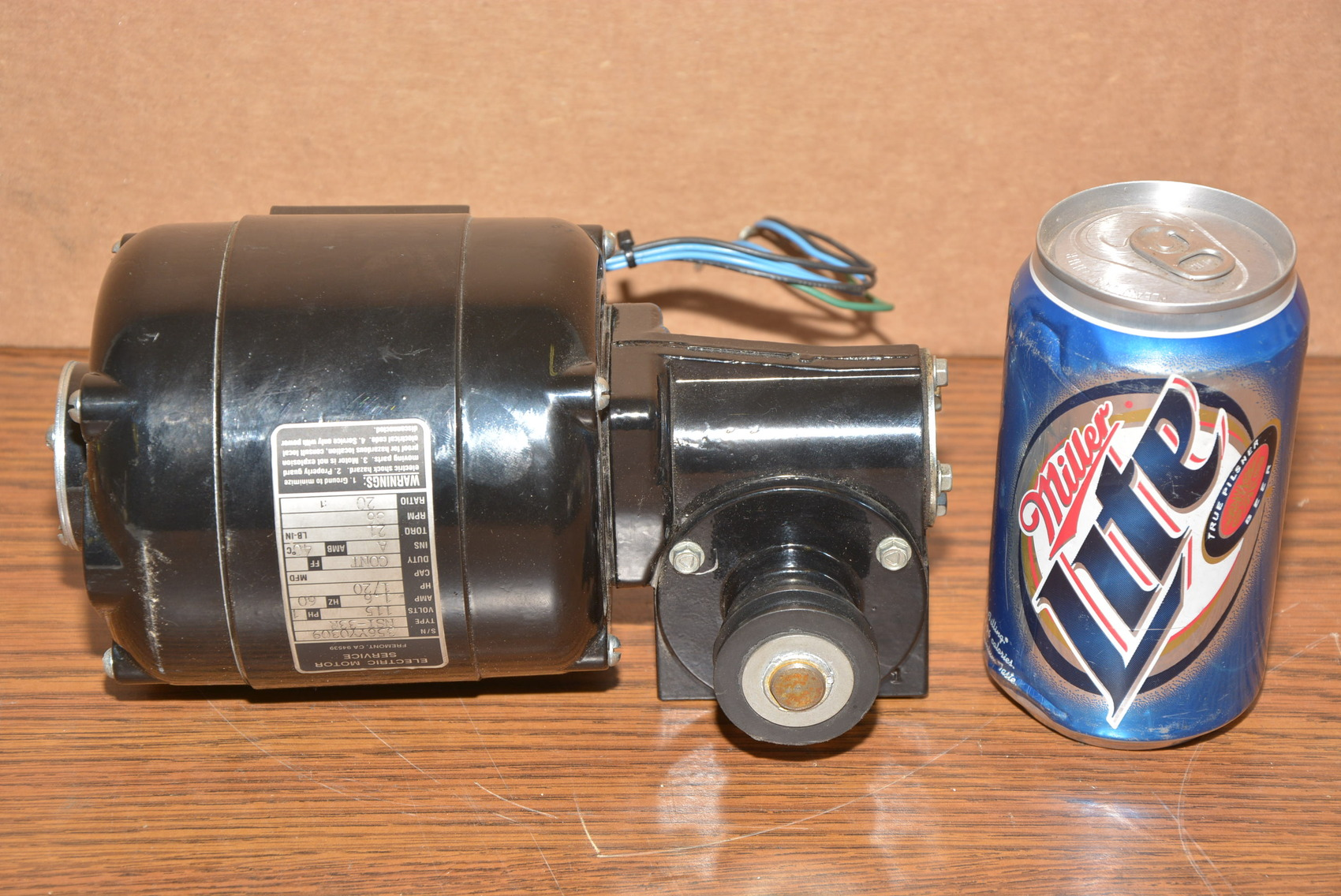 Bodine electric motor service 1 20 hp 1 phase gear motor for 20 hp single phase motor