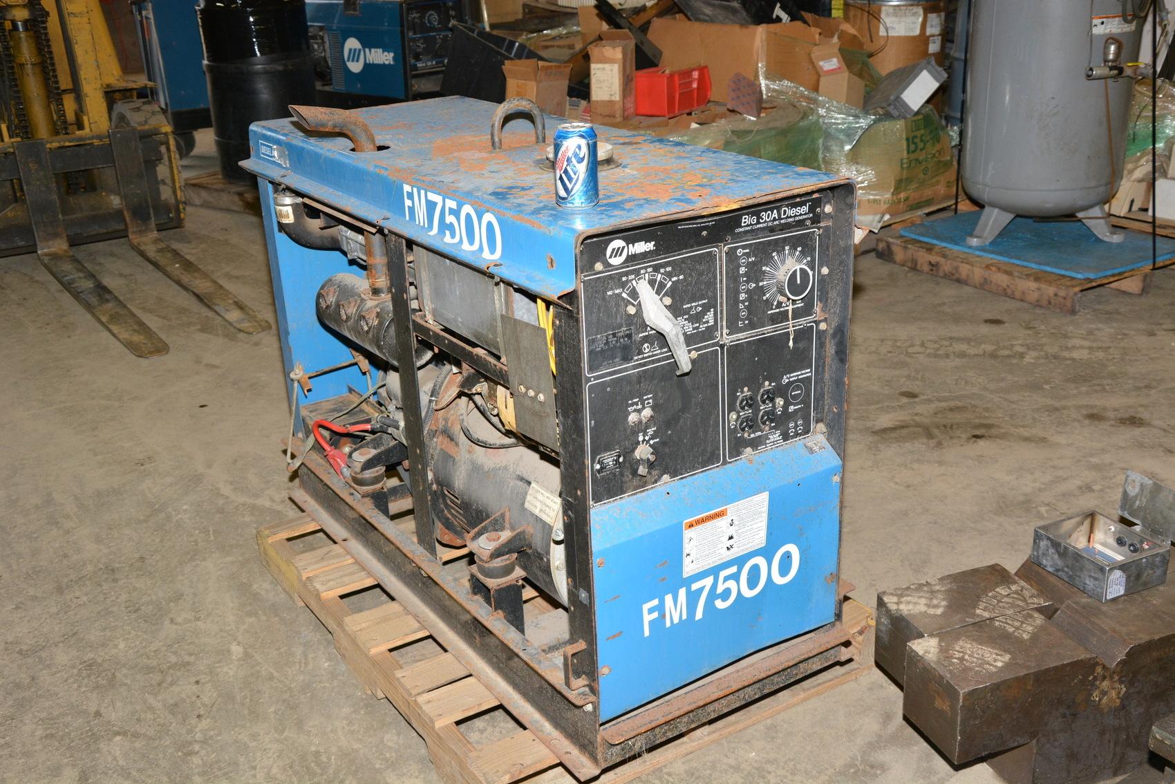 Miller BIG 30A DIESEL DC Stick Welder Generator F3L1011