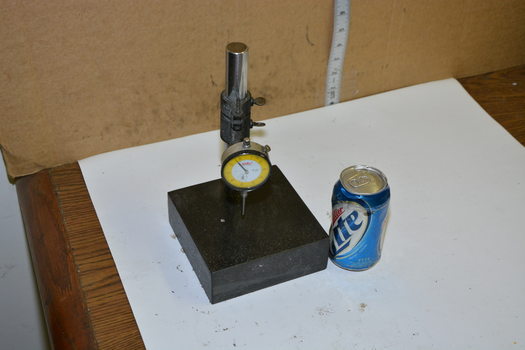 """MHC Comparator Gauge gage Dial Indicator On Stand;Range:0""""to 1"""""""