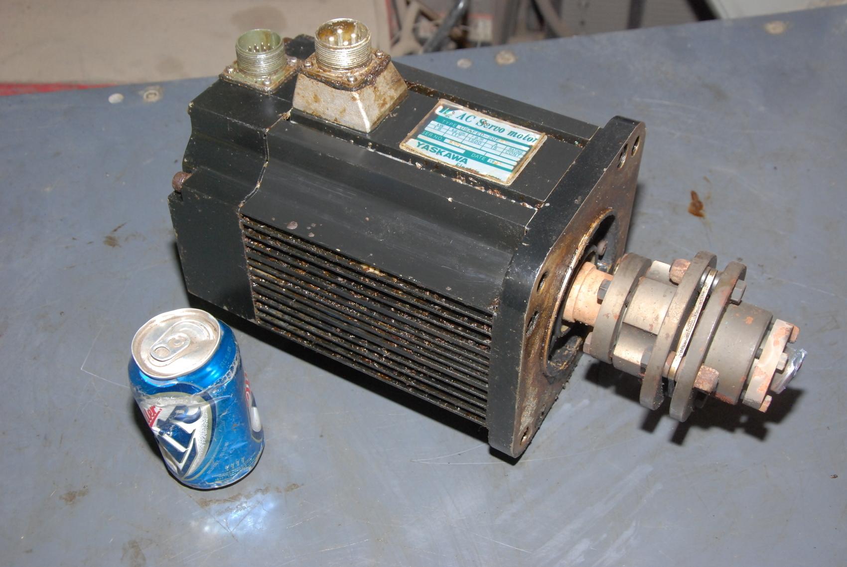 Yaskawa Motors-AC Servo Motor USAFED-20FB2;1.8kW;1500RPM