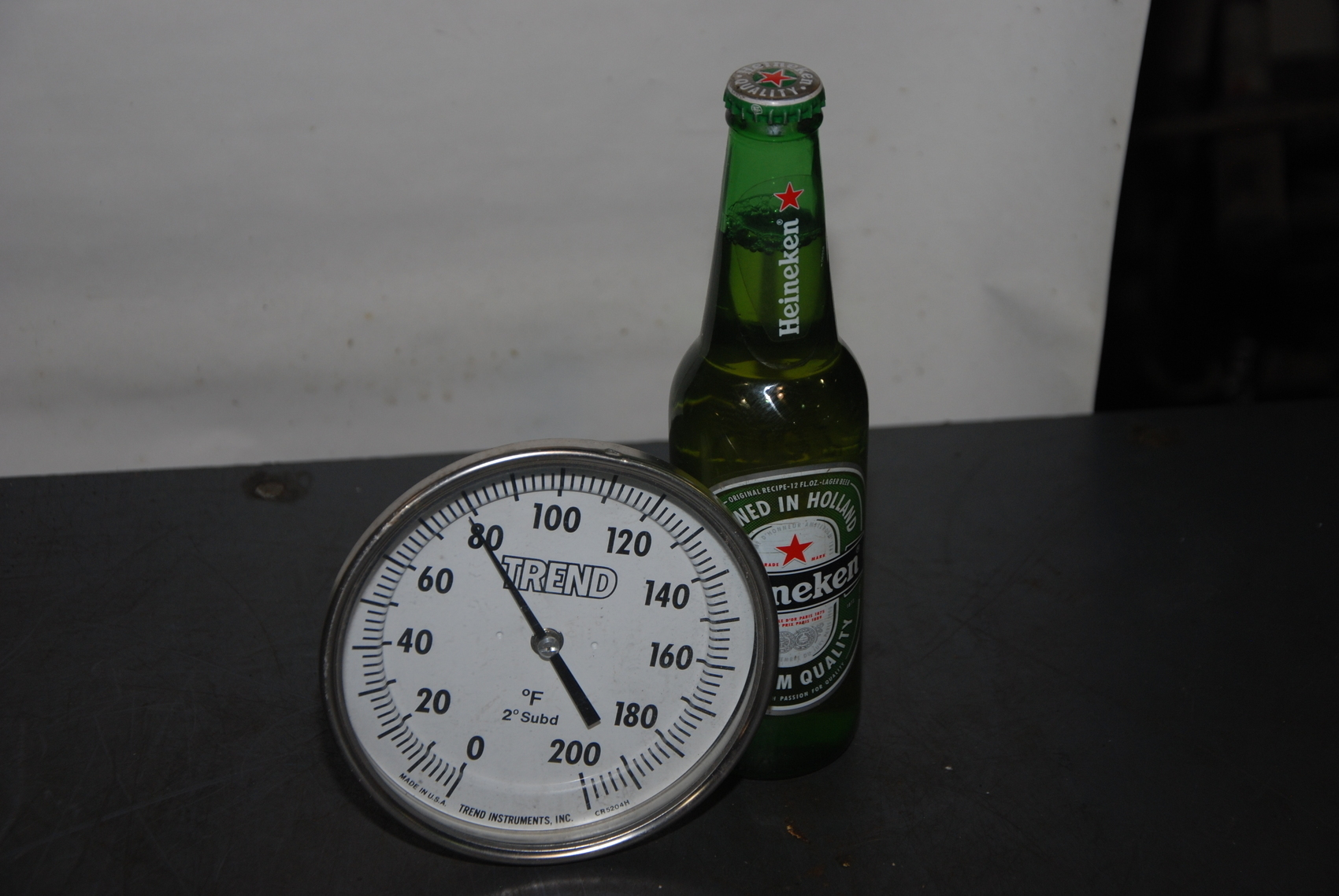 Trend 0-200F Stainless NSF thermometer temperature gauge;CR5204H