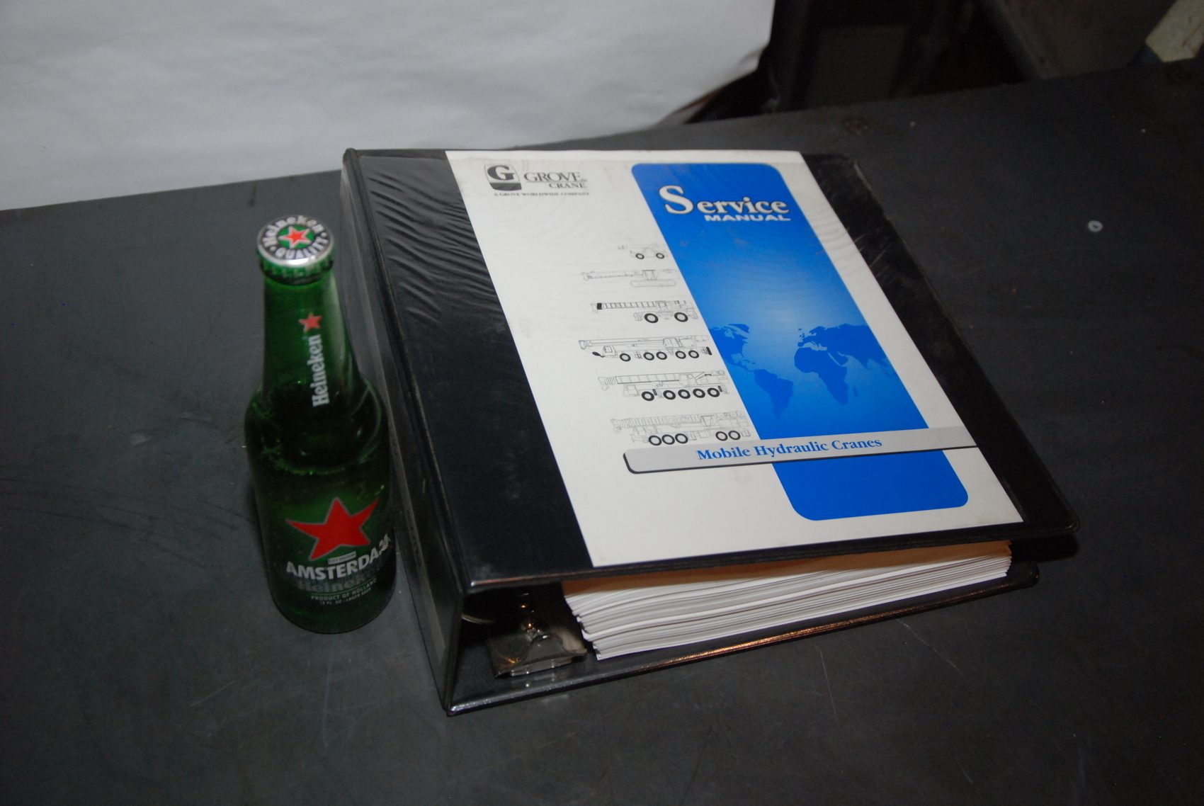 GROVE RT640C Crane maintenance packages manual and service manual nopl