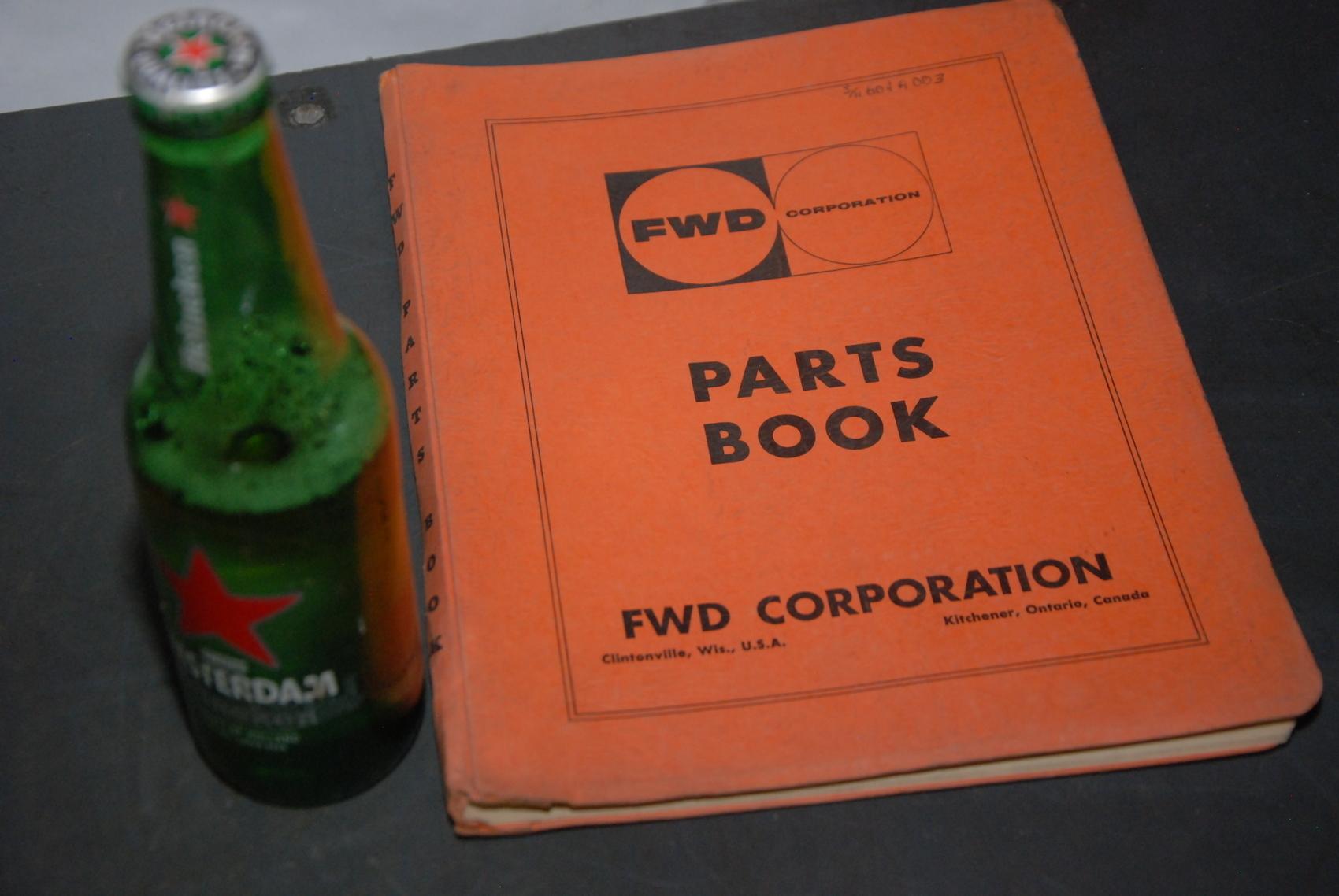 FWD 64-18 Crane parts manual nopl