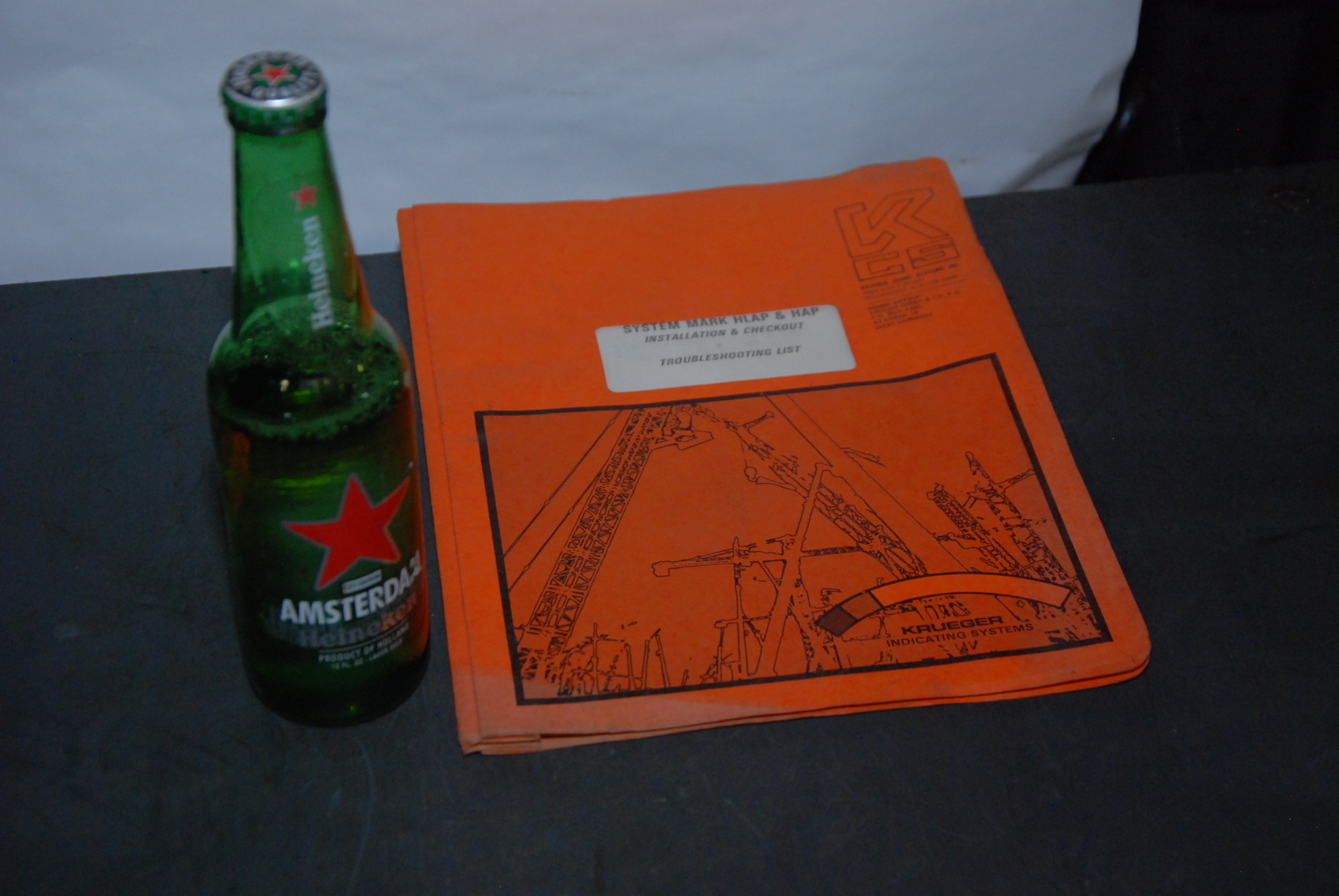 Krueger System Mark HLAP and HAP Crane Troubleshooting manual nopl