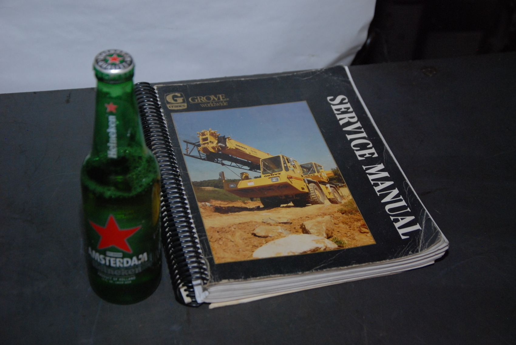 GROVE RT635C Crane maintenance manual nopl