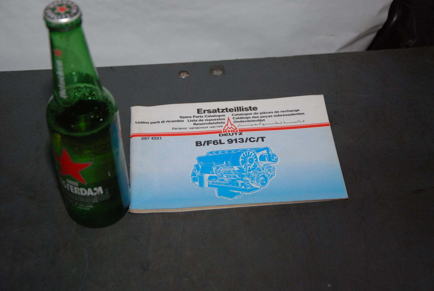 KHD B/F6L 913/C/T engine parts manual nopl