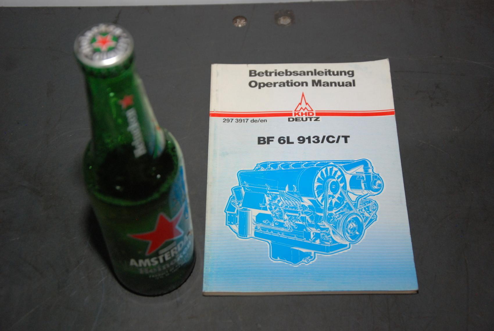 KHD BF6L 913/C/T Engine parts manual nopl