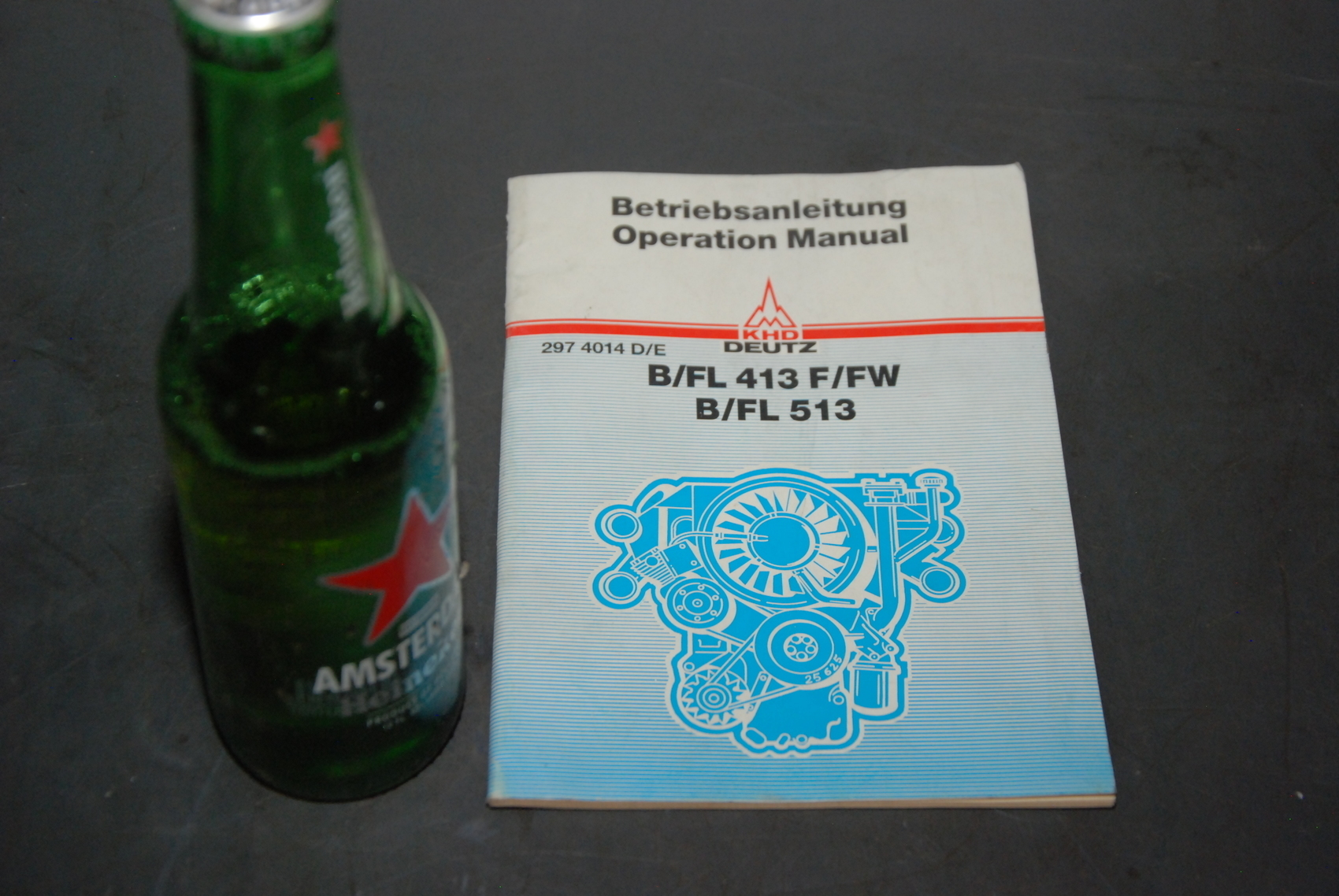 KHD B/FL 413F/FW and B/FL 513 Engine parts manual nopl