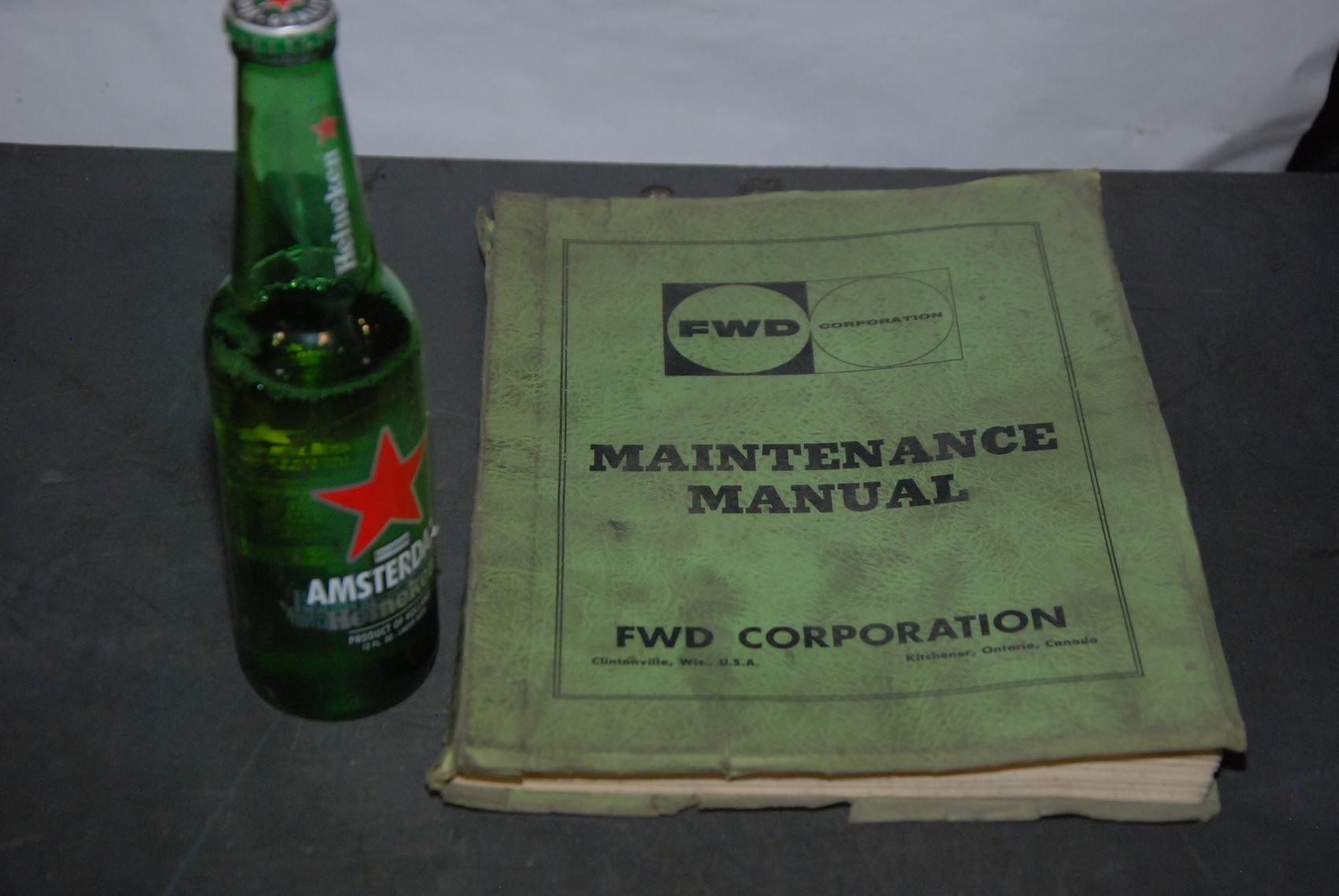 FWH 66-18G Crane maintenance manual nopl