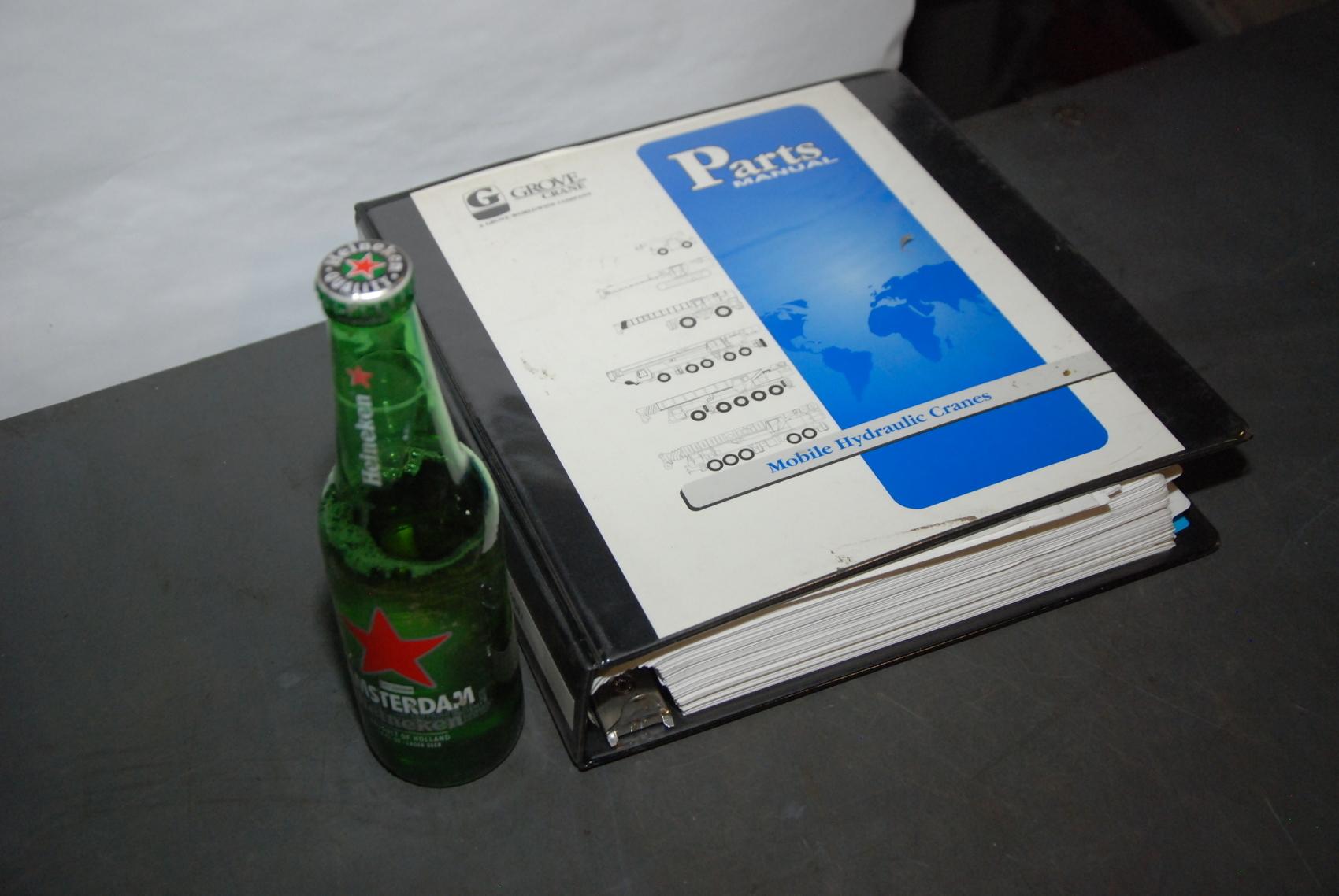 GROVE RT750 Crane parts manual nopl