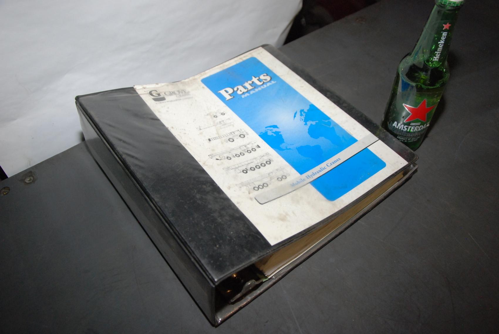 GROVE RT733E Crane parts manual nopl