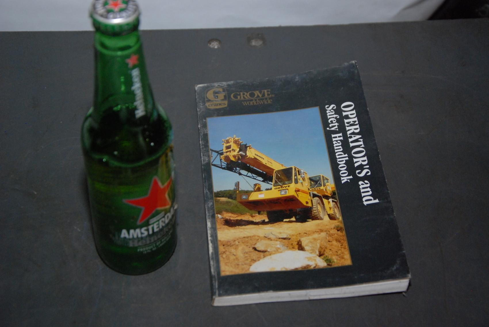 GROVE RT700 series Crane operators handbook manual nopl