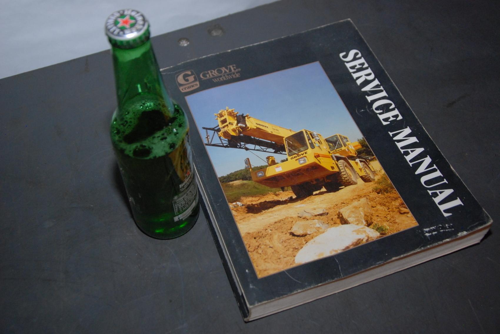 GROVE RT600C series Crane maintenance packages manual nopl