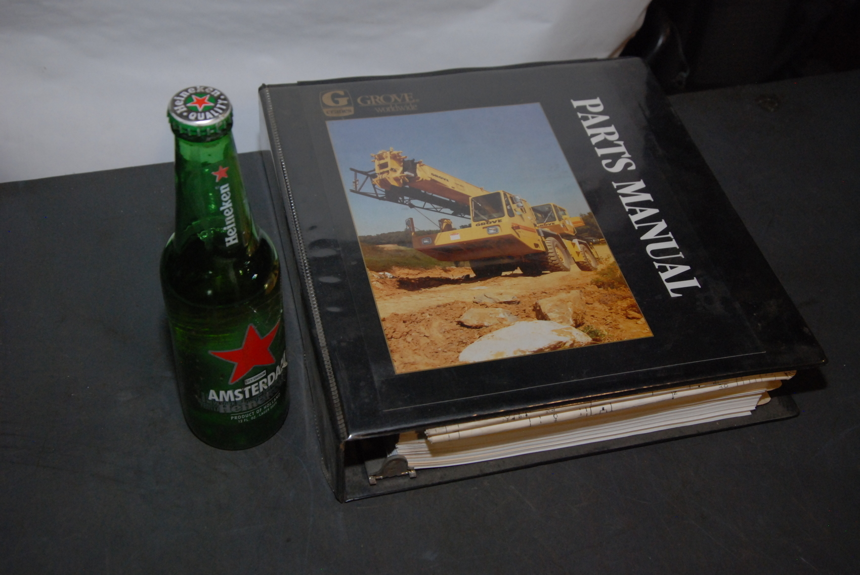 GROVE RT745 Crane parts manual with electric schematic nopl