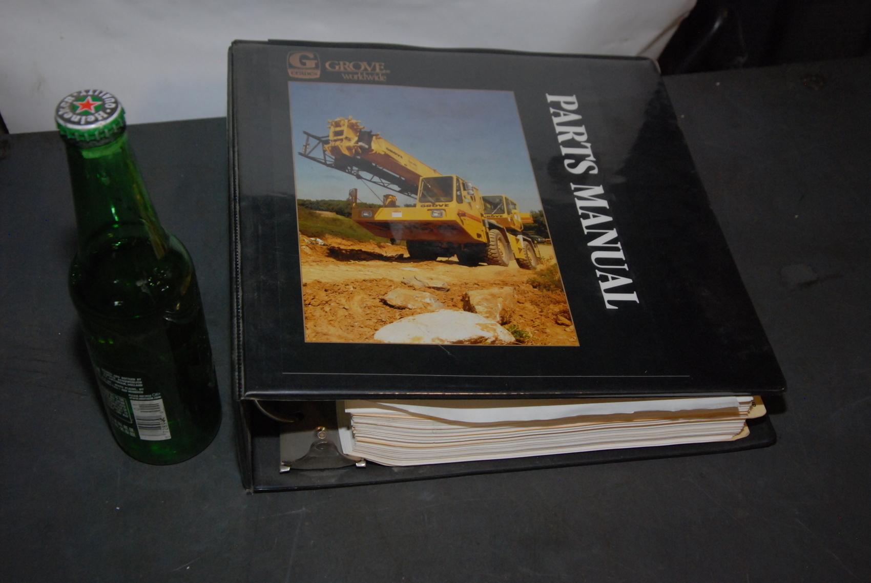 GROVE RT733 Crane parts manual nopl