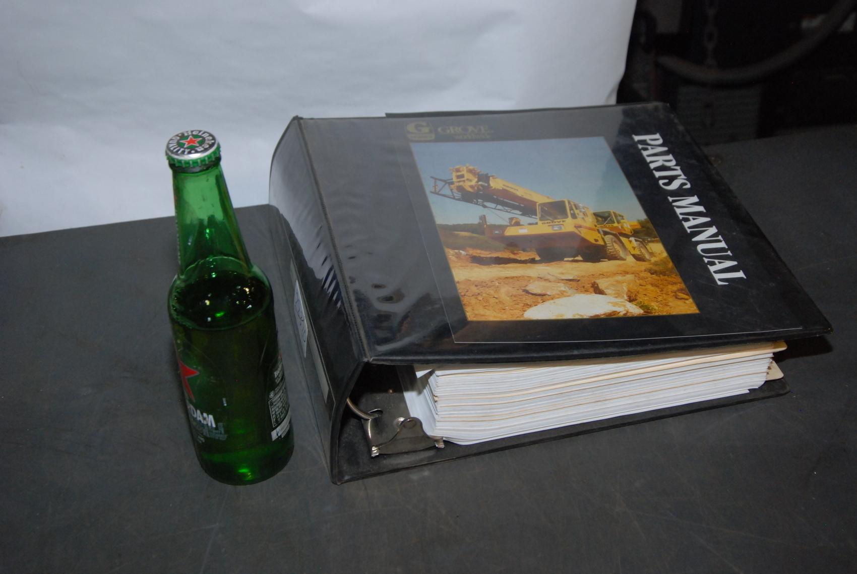 GROVE RT800B Crane parts manual nopl