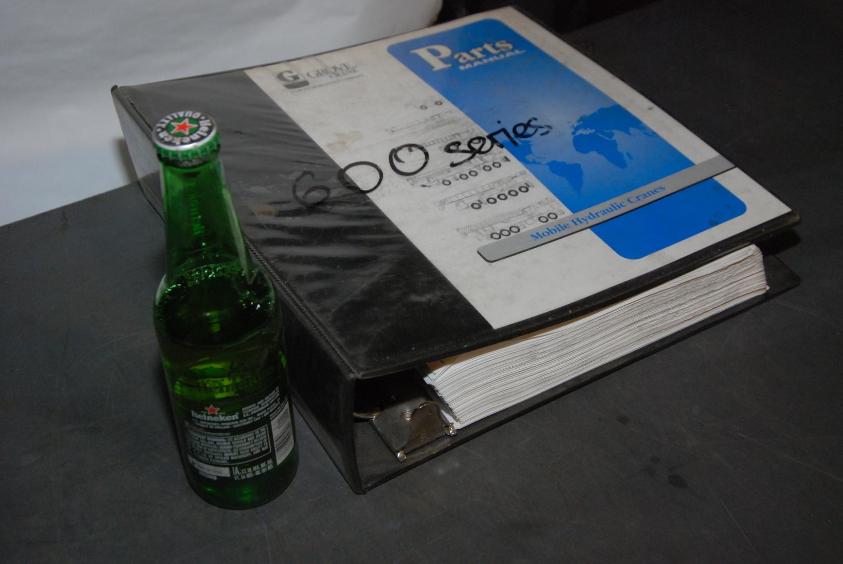 GROVE RT633C Crane parts manual nopl