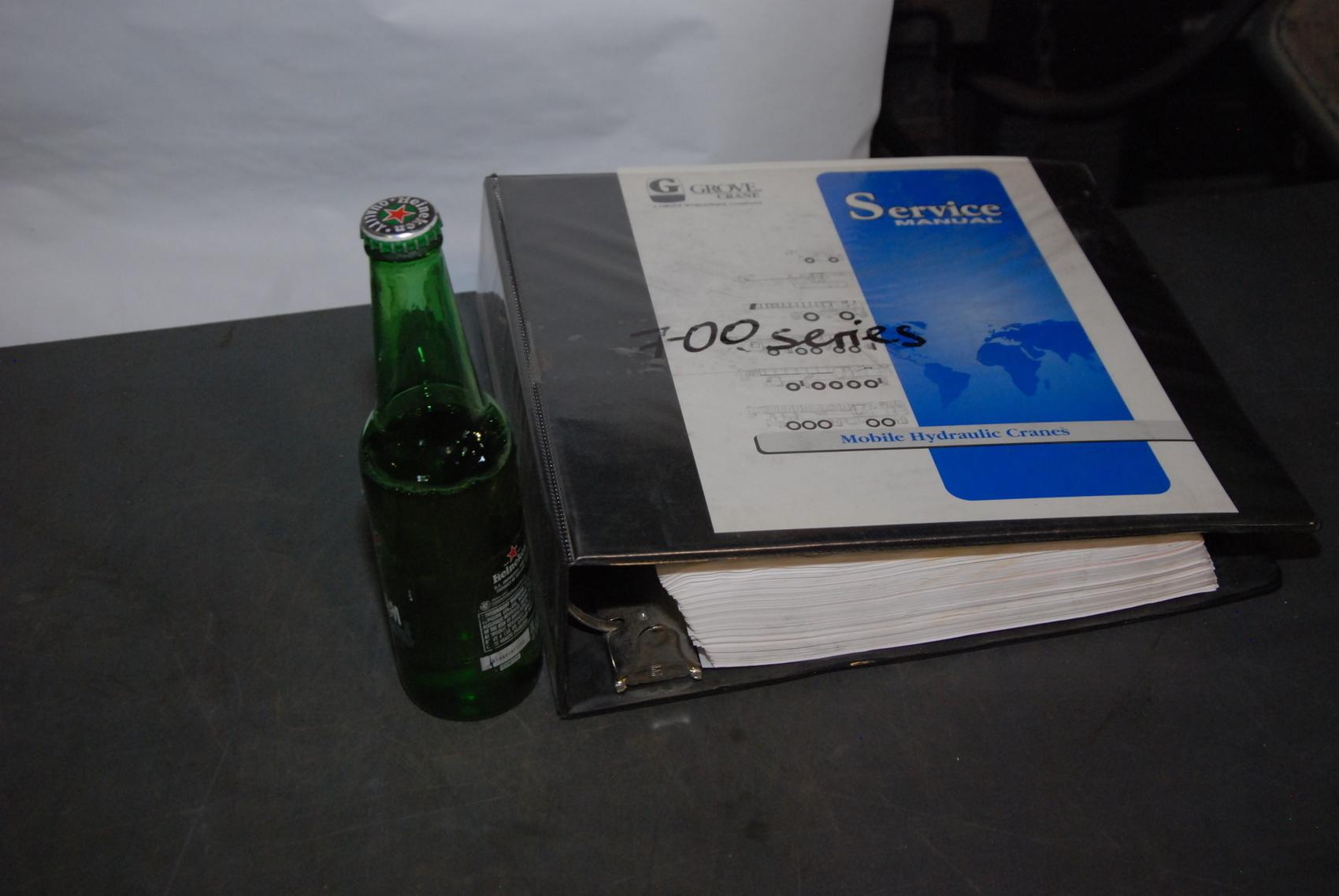 GROVE RT750 series Crane maintenance packages+service manual nopl