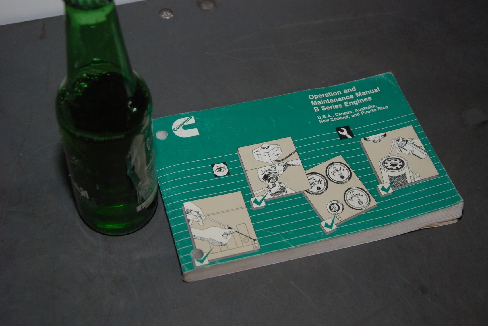Cummins B series Engines maintenance manual nopl