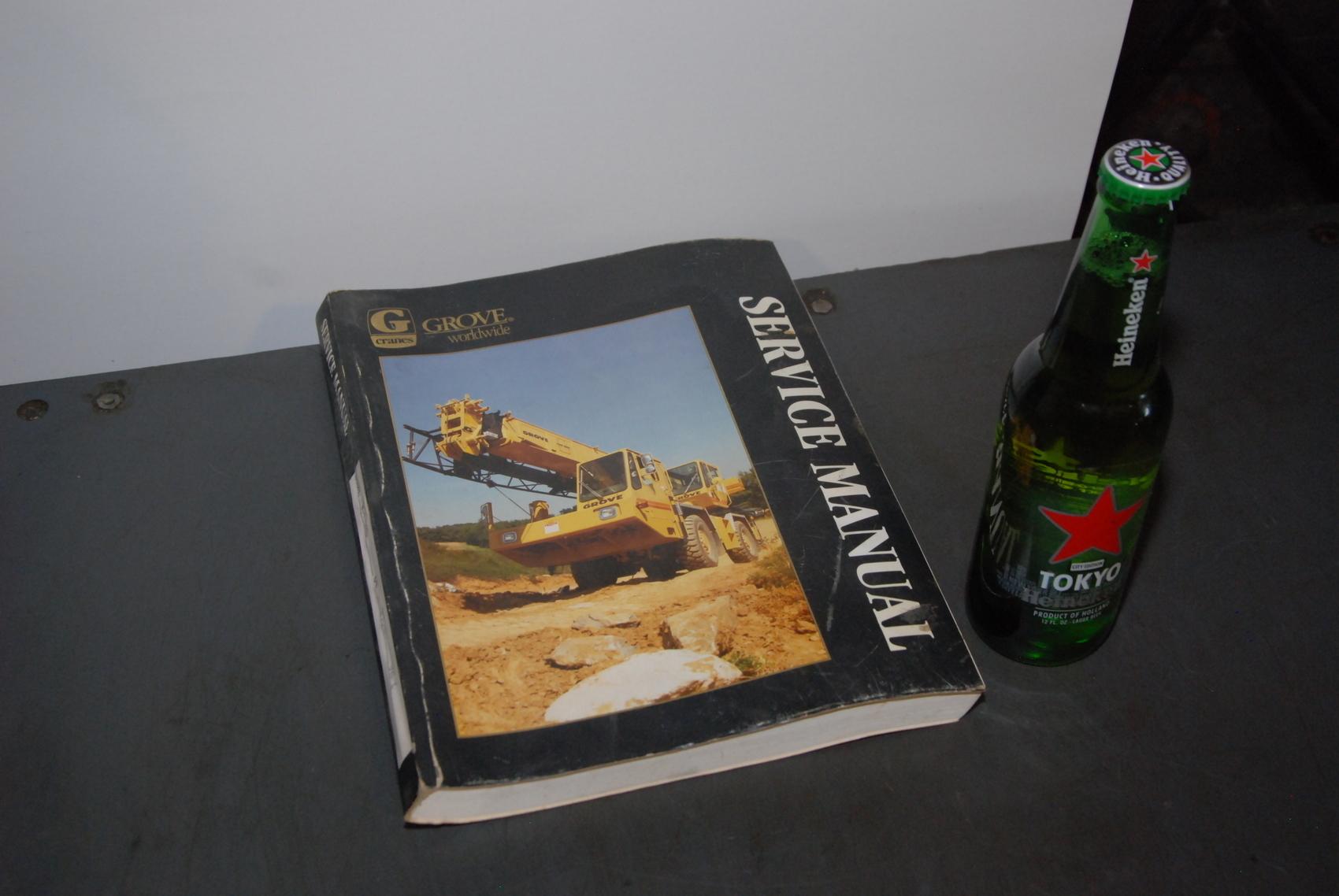 GROVE RT733 Crane maintenance manual nopl