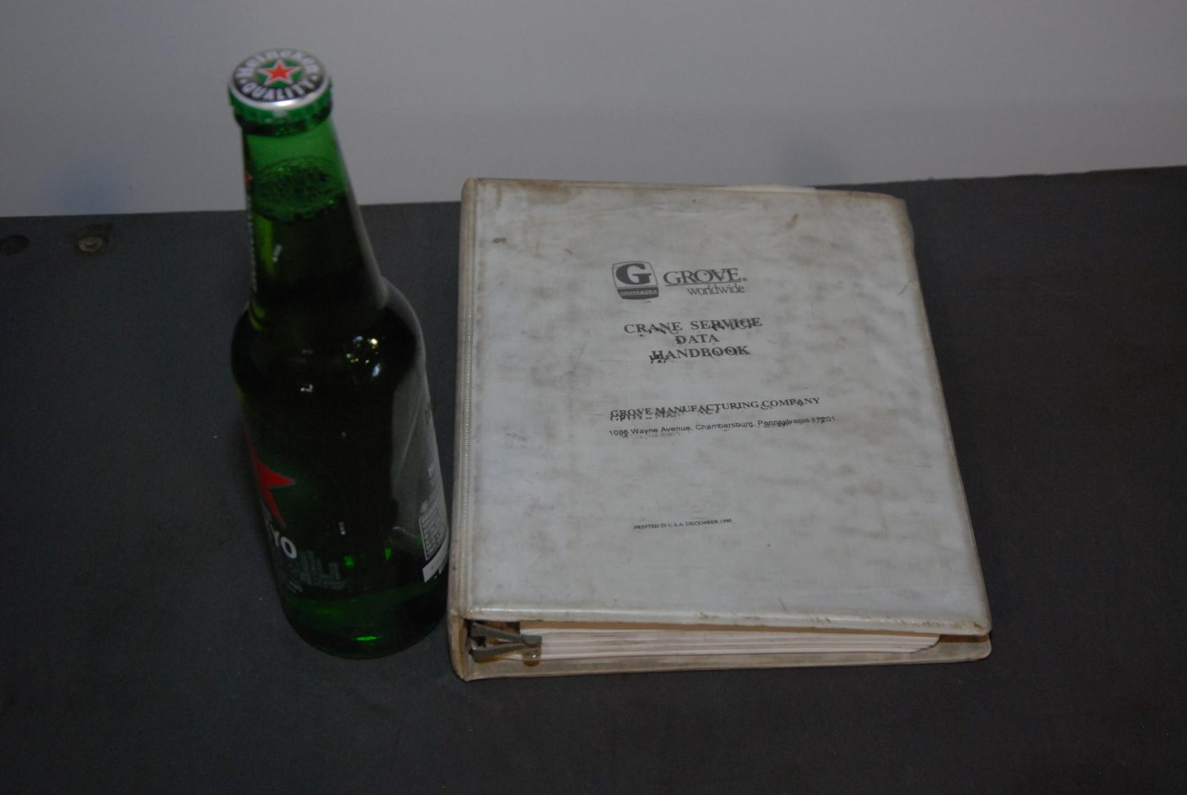 GROVE RT seria Crane operators handbook manual nopl