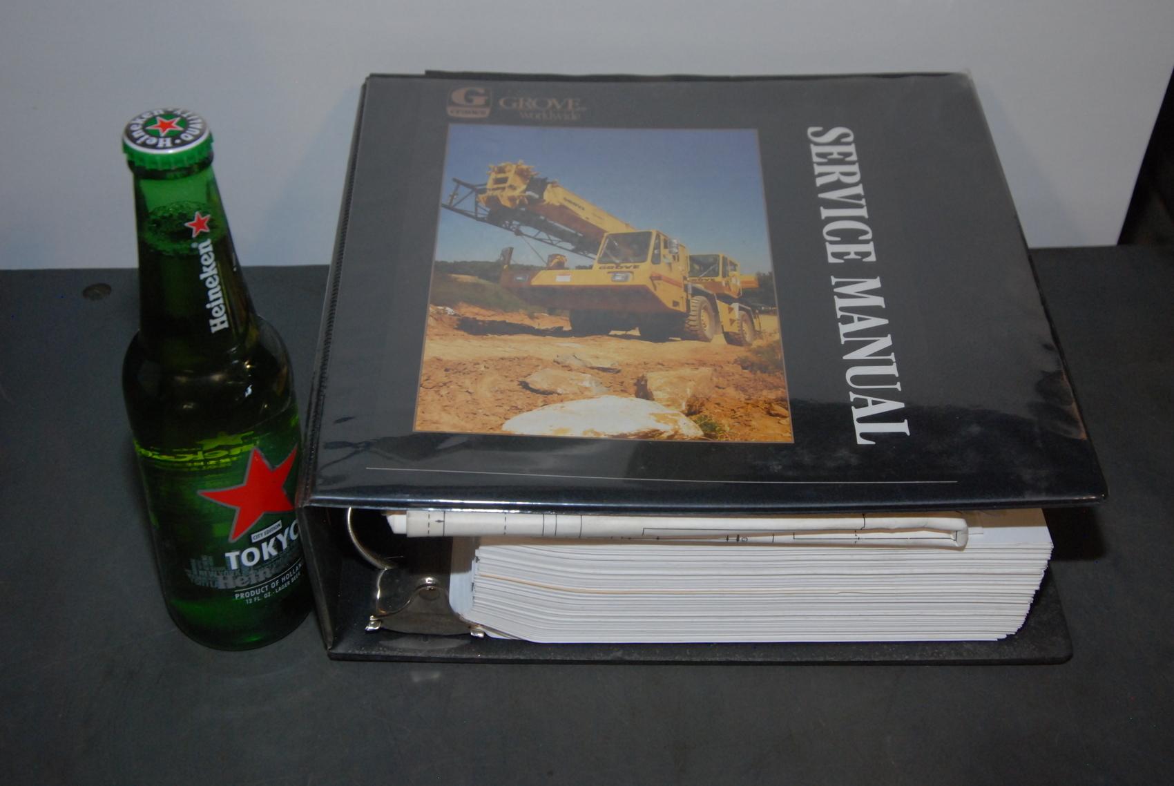 GROVE RT834B Crane maintenance packages+service manual+schematic nopl