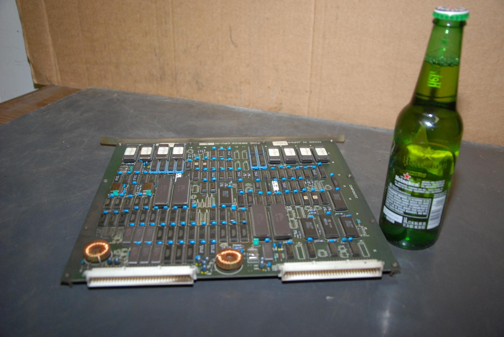 Fine Sodick CPU-01D Circuit Board