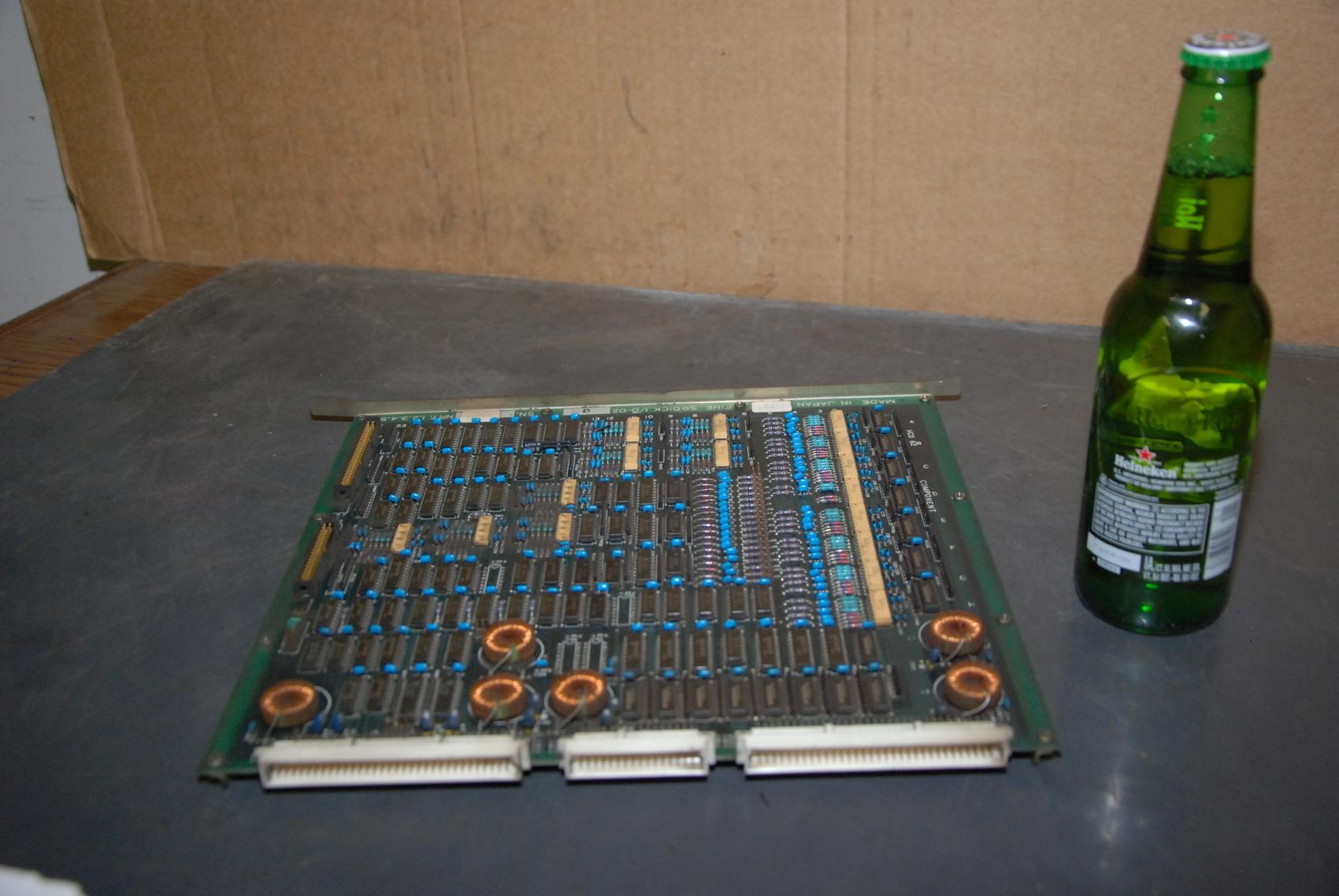 Fine Sodick I/O-02D Circuit Board