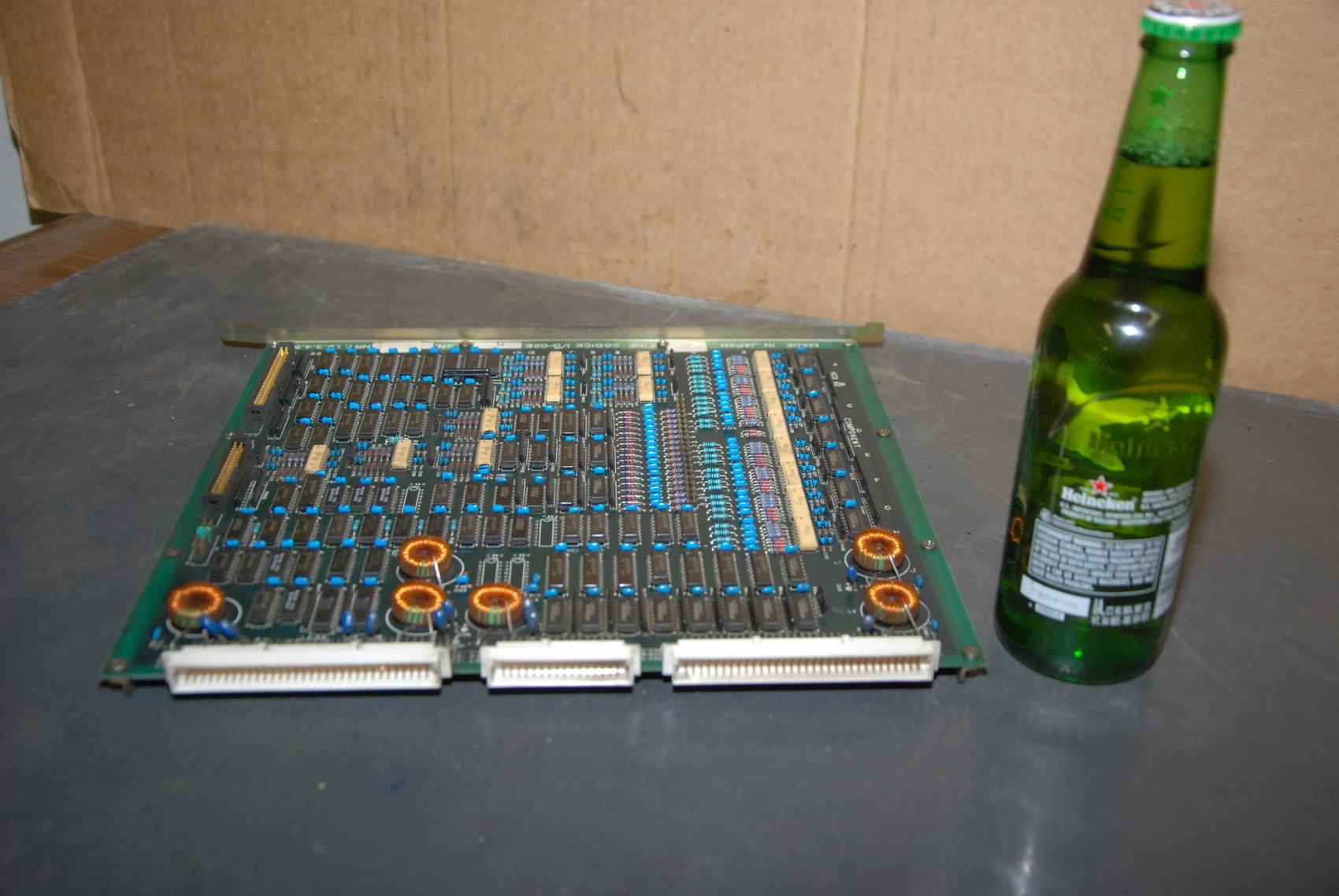 Fine Sodick GEM-02ED Circuit Board