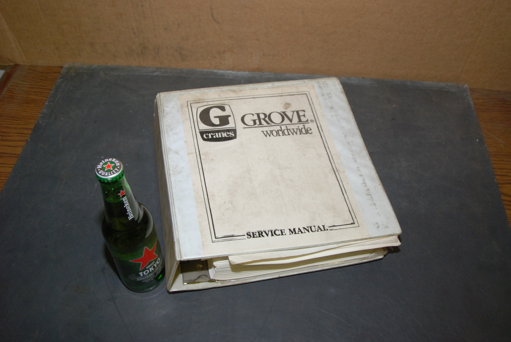 GROVE RT745/760 Crane maintenance manual with electric schematic nopl