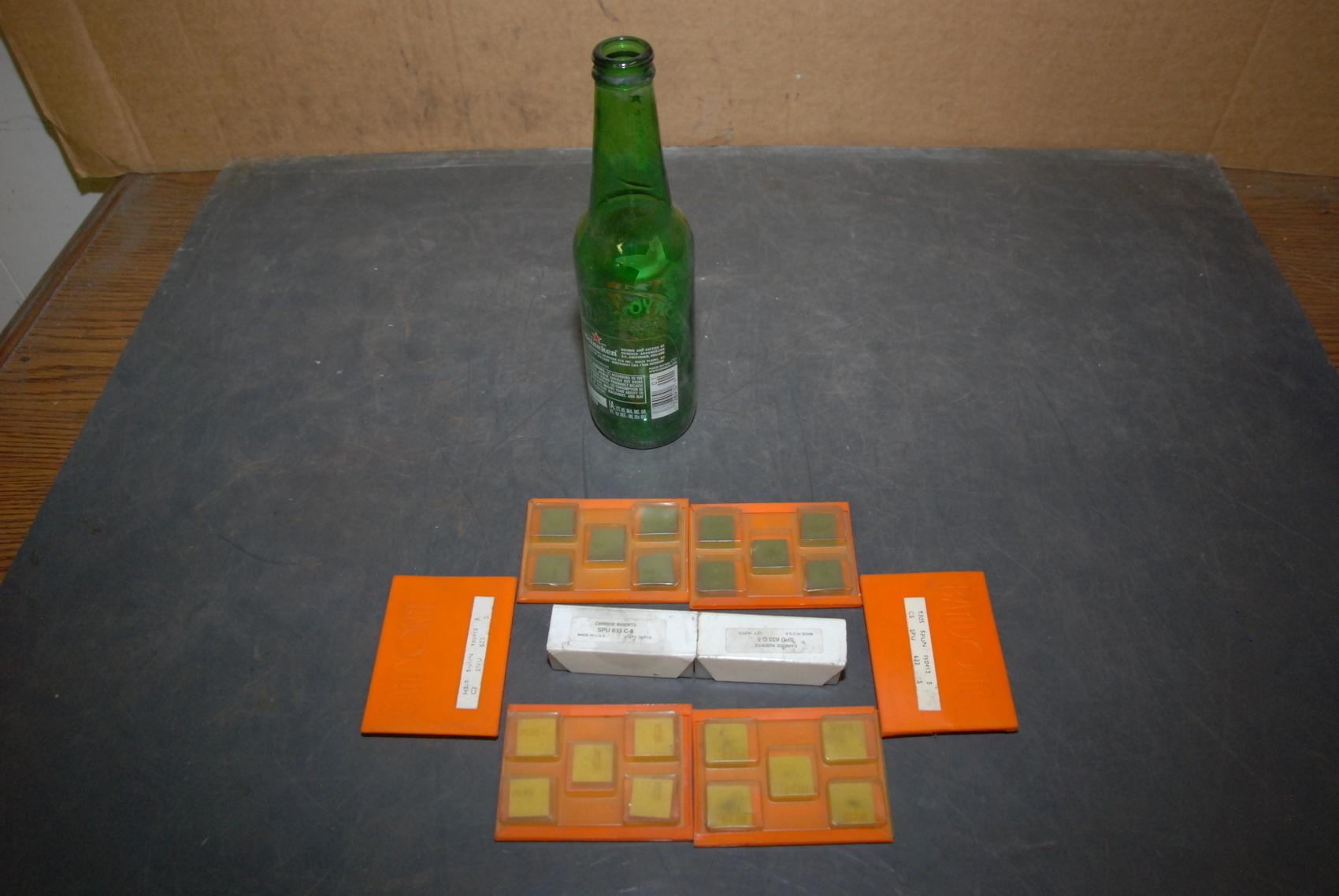 NEW Lot of 50 Baildonit SPU633+SPU634+SNU633+SNU634 Carbide Inserts