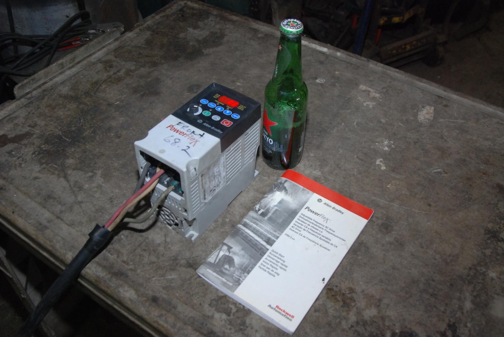Allen-Bradley PowerFlex4 AC Drive Controller;