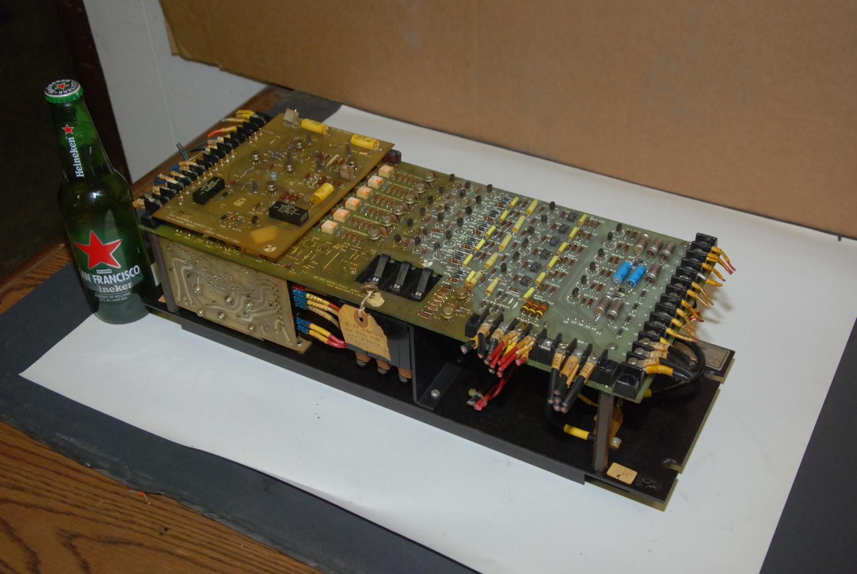 Warner and Swasey 5351 servo Drive;Top board 8940-754K