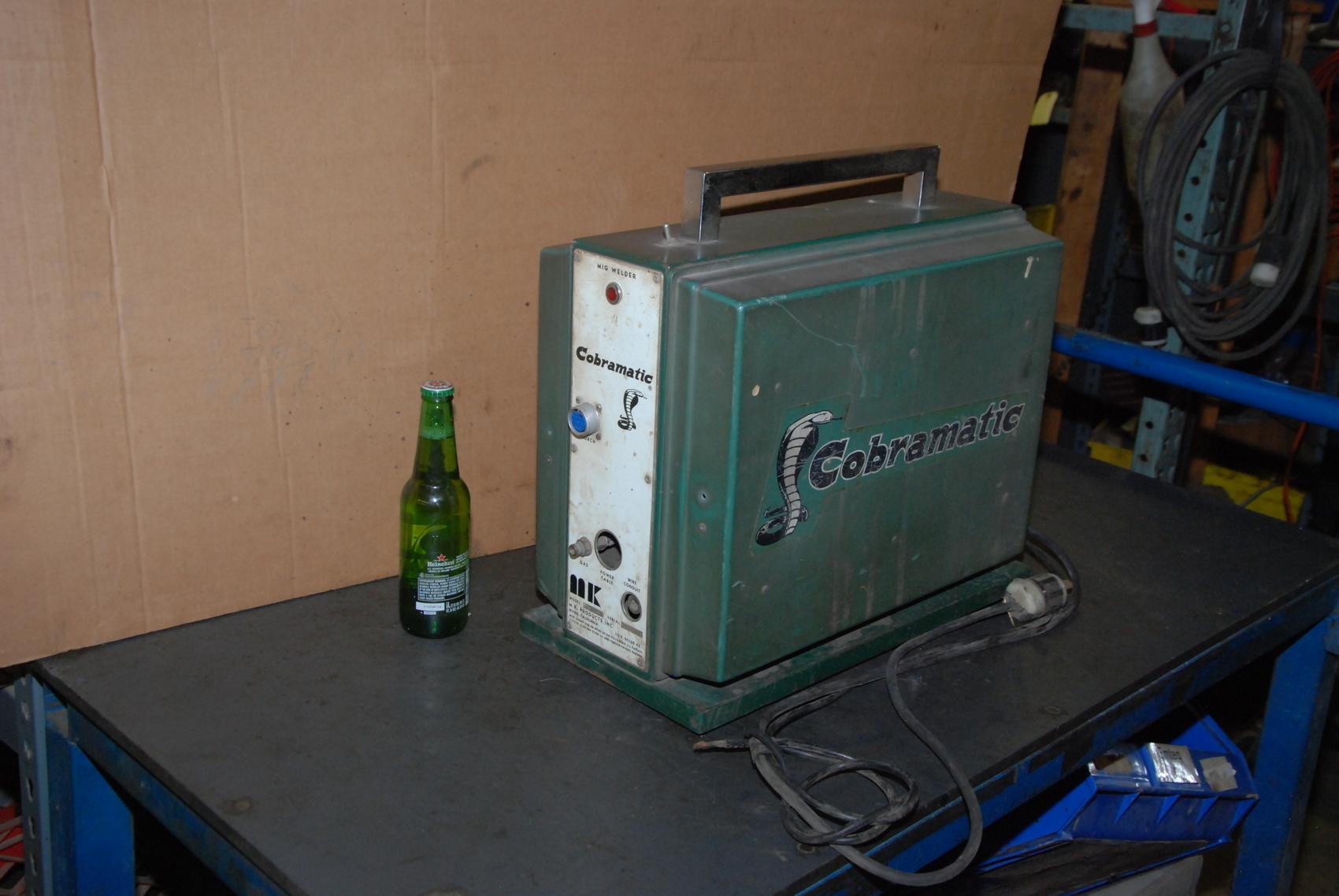 MK Products MK-3A Portable MIG Wire Feeder Cobramatic