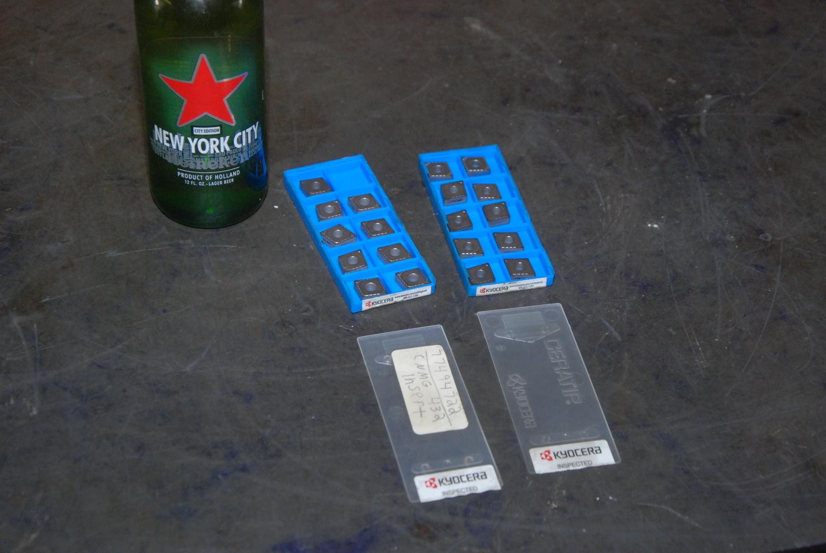 Lot of 19 Kyocera CNMG 432 HK Carbide Inserts;TSM00380 TC40