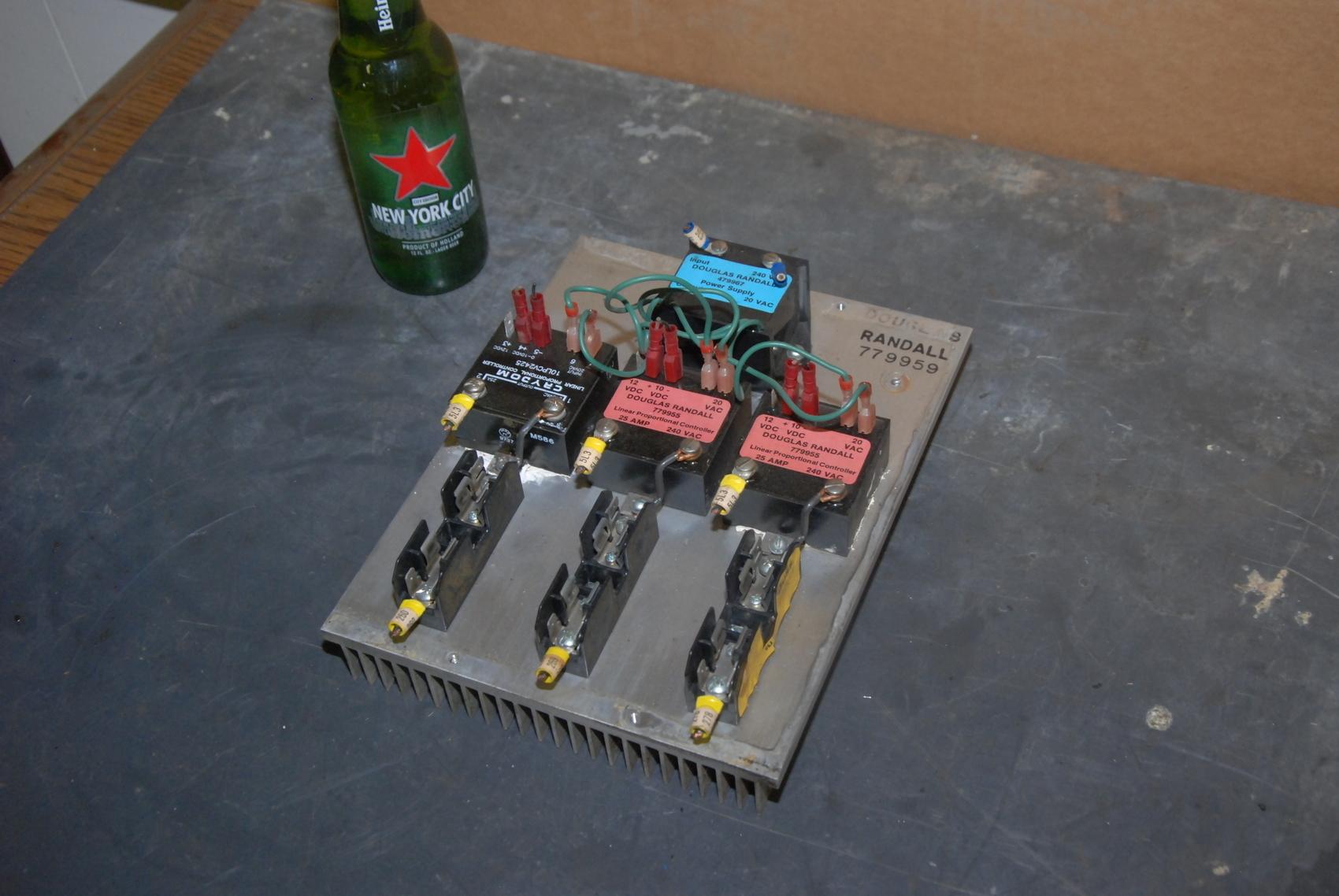 Douglas Randall 779955/Crydom 10LPCV24 Linear Proportional Controller