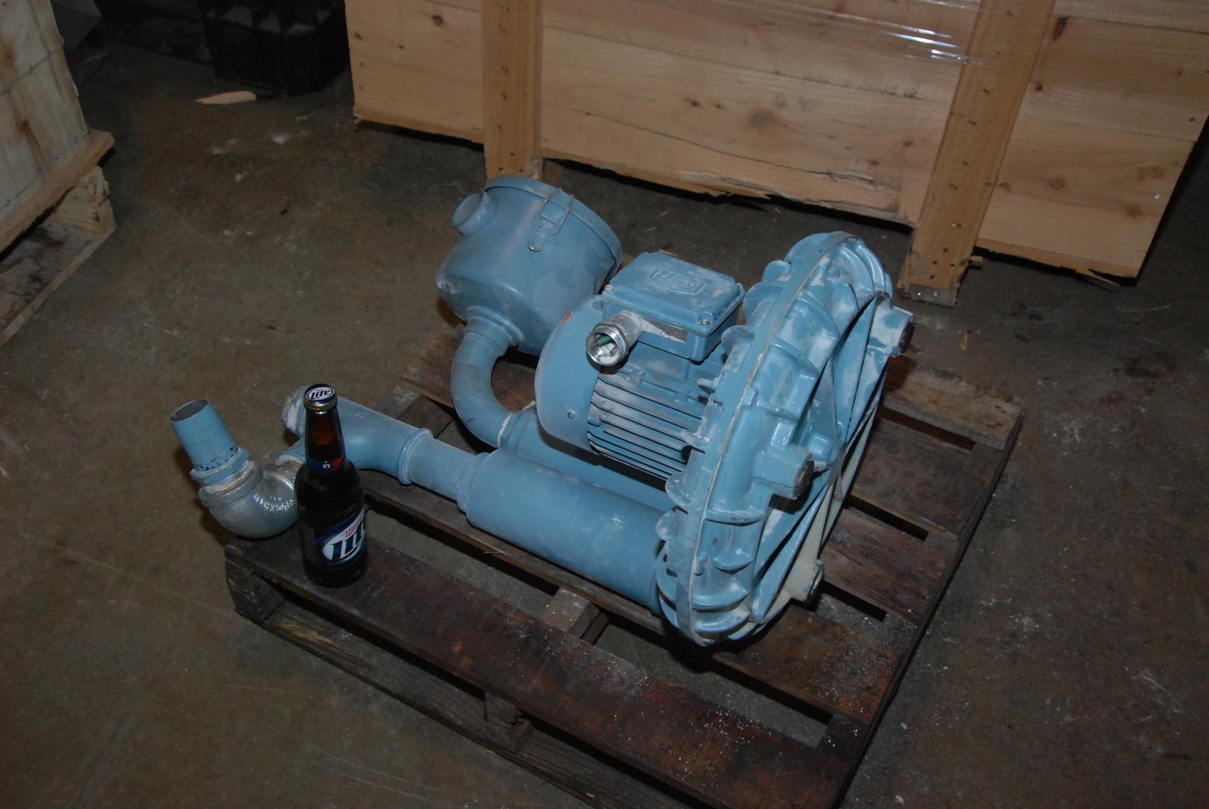BECKER SV101 Vacuum Pump Blower;0.85 KW Electric Motor