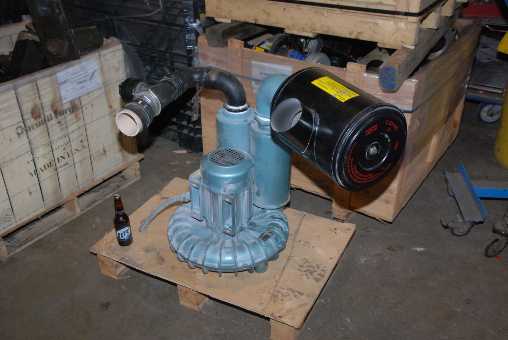 BECKER SV401 Vacuum Pump Blower;3.5 KW Electric Motor