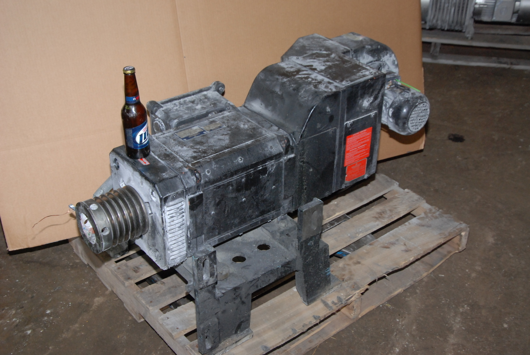 Baumuller AGNG 132 MV Electric Motor;25(30)KW;2700RPM;with blower