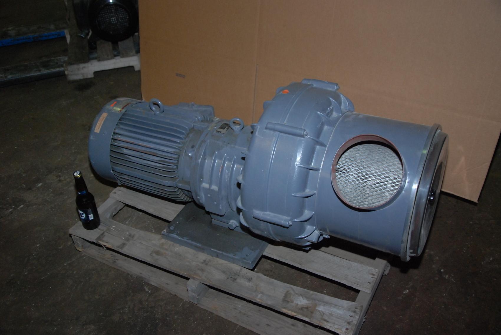 Becker RV 33/21-606 Vacuum Pump;1100m3/h w/Dietz 9KW Electric Motor