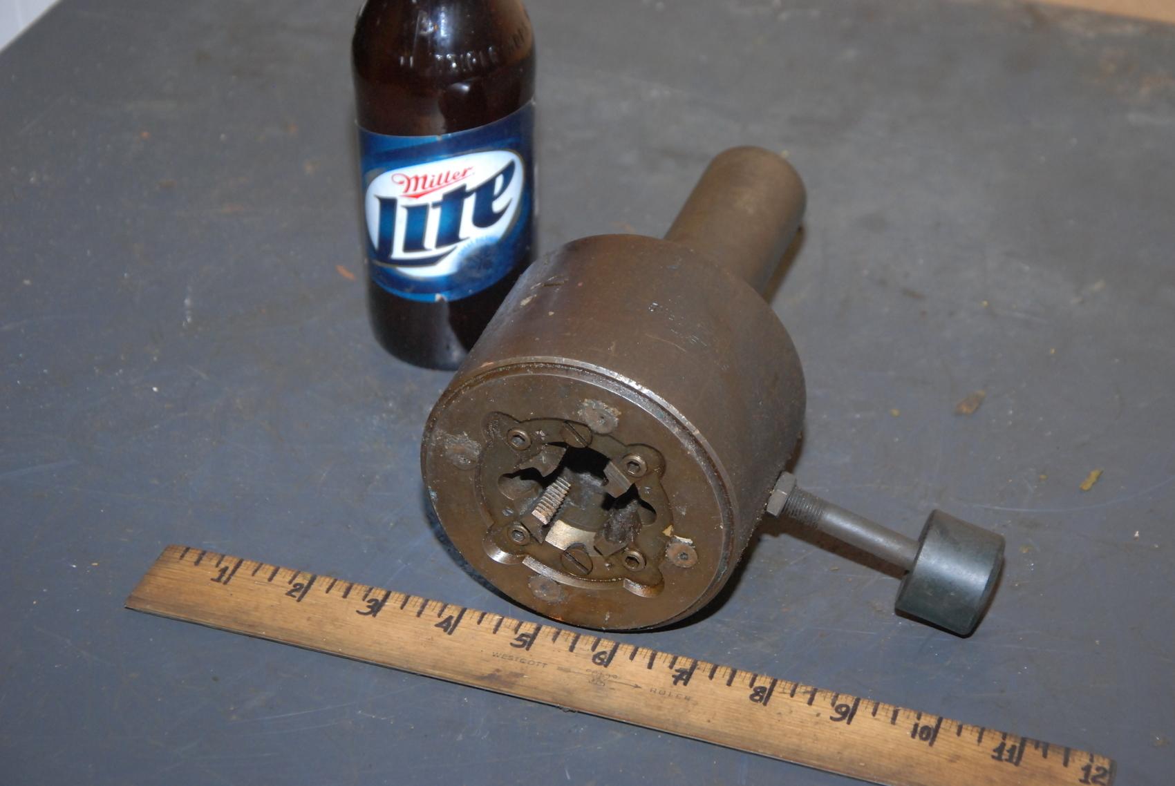 """Modern Tool Works Style T Die Head;shank 1-/12"""";cap.3/4"""""""