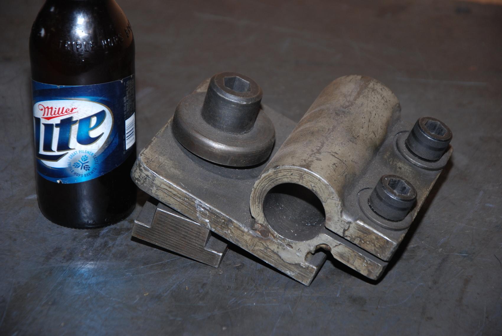 """Metal lathe boring bar tool holder;1-1/2""""cap;"""
