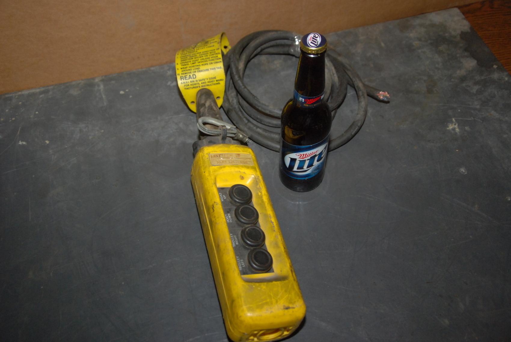 Lift Tech 328314-03 push button station for hoist