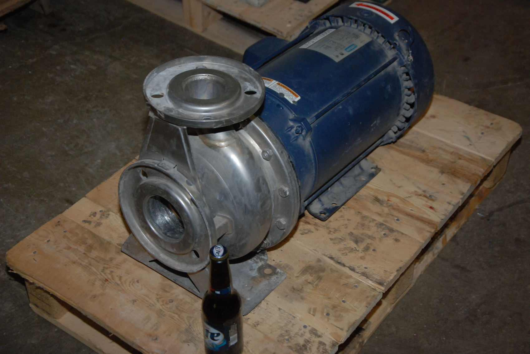 Ebara 10hp A3UB-65-160100T3C STAINLESS END SUCTION CENTRIFUGAL PUMP