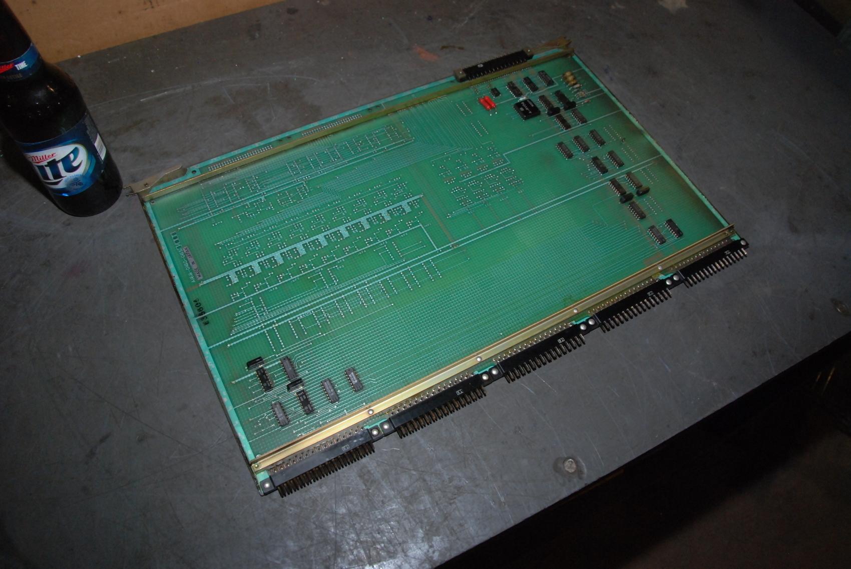 Fanuc A16B-0160-0651/05B CNC Circuit Board