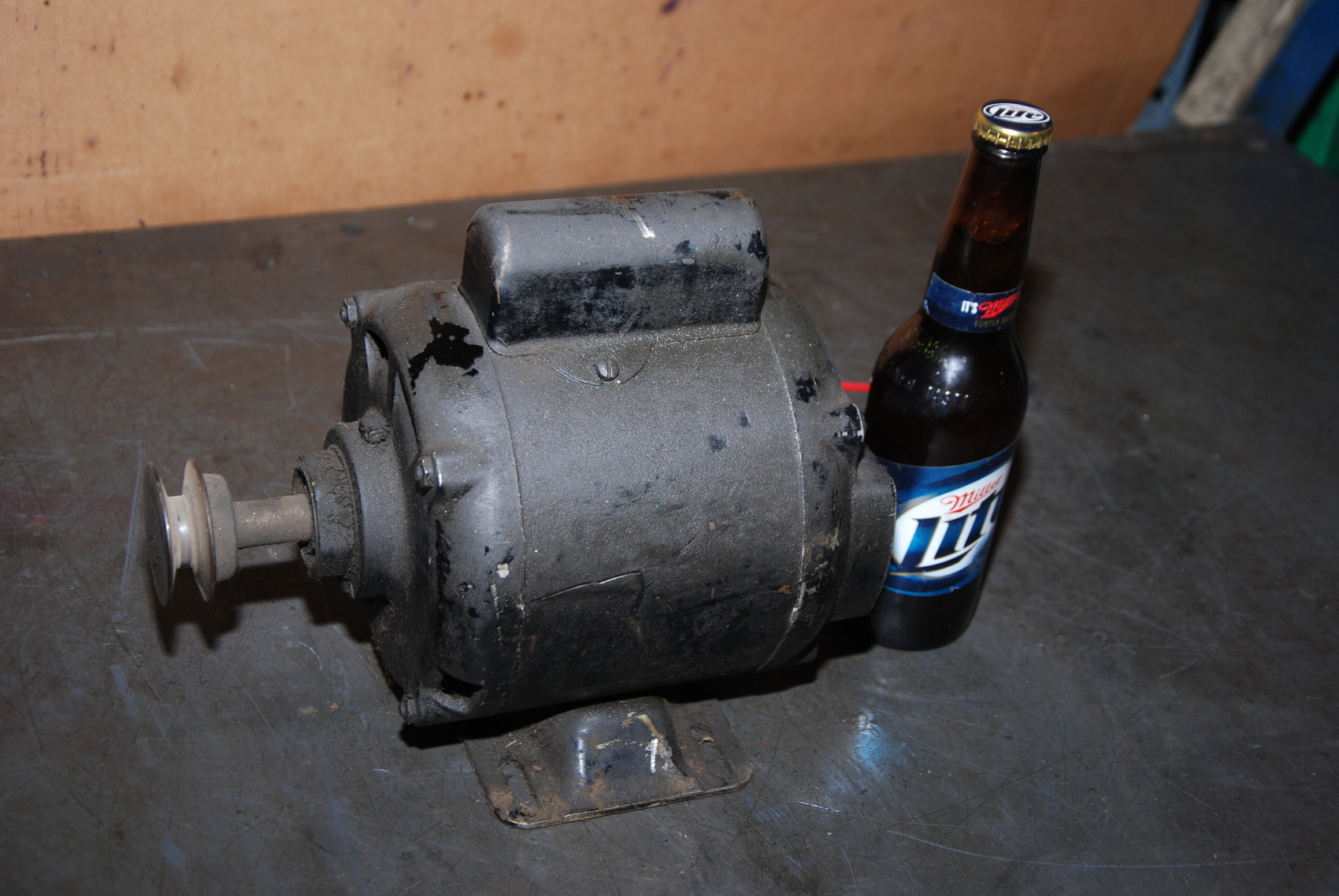 Westinghouse 1/4HP Single phase electric motor;1725RPM;fr.56;115VAC