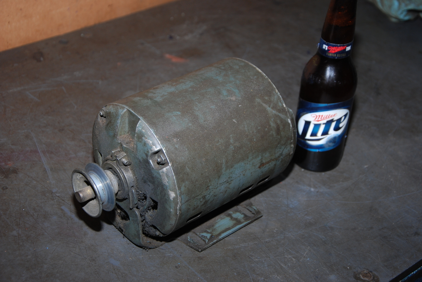 General Electric 1/3HP Single phase electric motor;115VAC;1725RPM